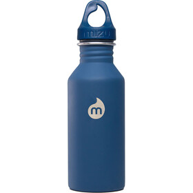 MIZU M5 Bottle with Blue Loop Cap 500ml Soft Touch Blue LE